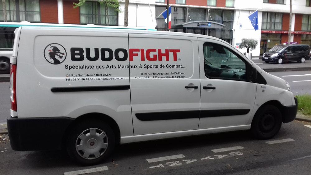 Habillage d'un véhicule en semi-covering