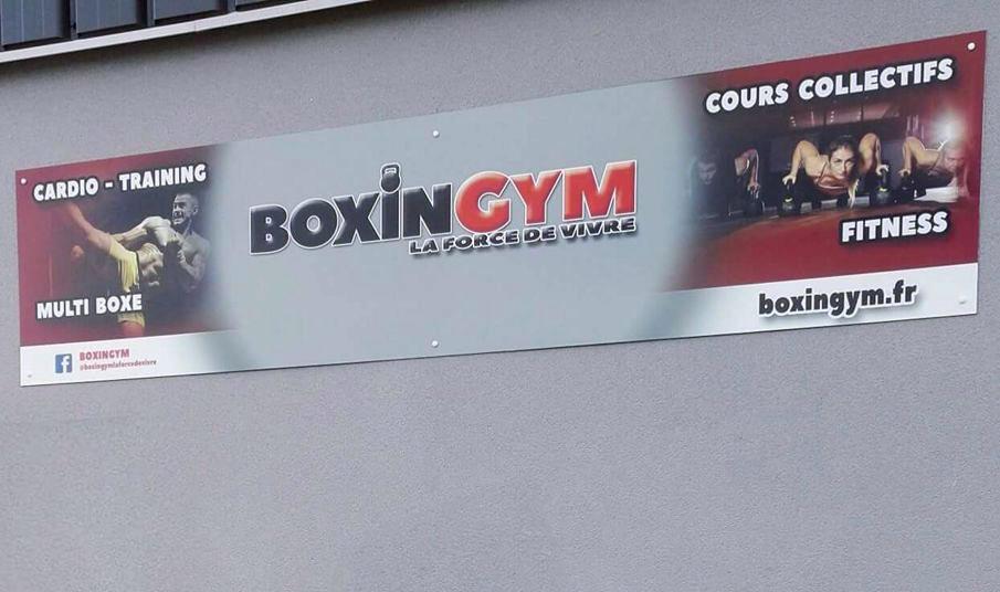 Enseigne Boxingym