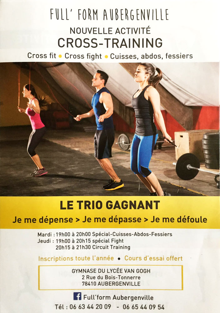 Conception Graphique Et Impression Flyers Pour Lassociation FULL FORM