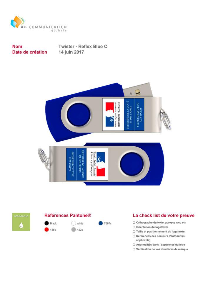 Personnalisation de clés USB