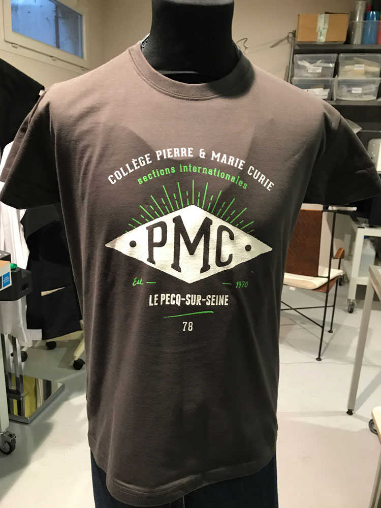 T shirts sérigraphie en 2 couleurs
