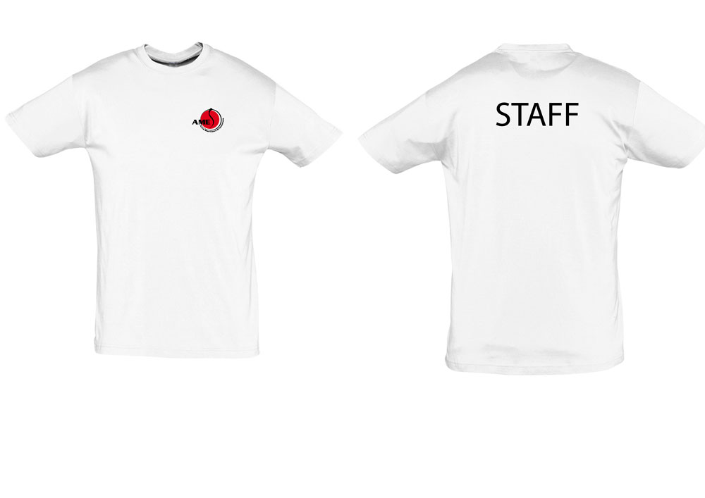 Impression direct sur textil blanc T-shirt pour AMES