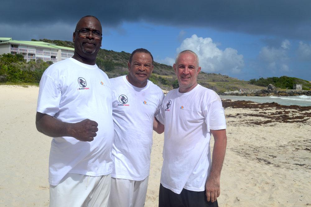 T-shirts en Impression Directe Numérique sur textile clair; club d'arts martiaux sur l'île de ST- MARTIN qui nous fais confiance; sponsorisé par AB COMMUNICATION GLOBALE