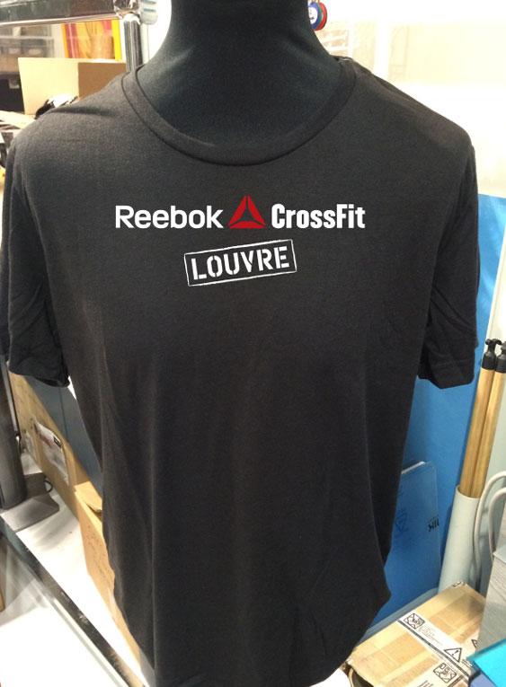 T-shirt - Marquage en sérigraphie, sur textile technique pour sportif